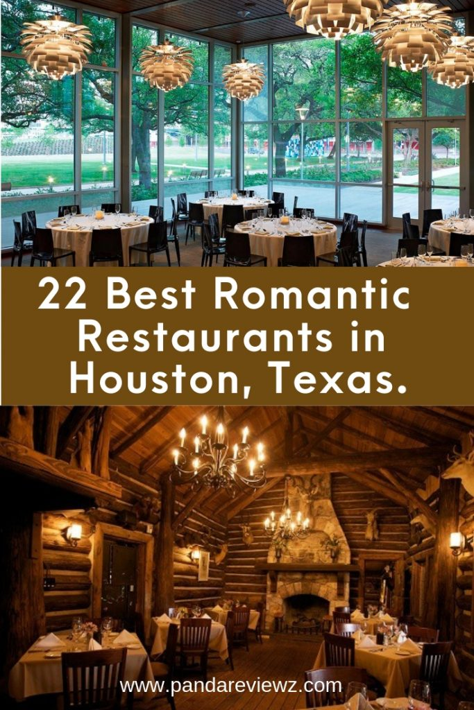 Romantic Restaurants in Houston Texas