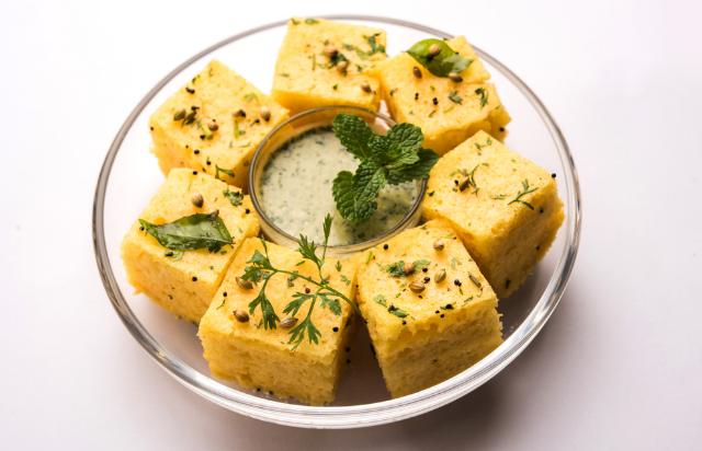 dhokla Gujarati snack