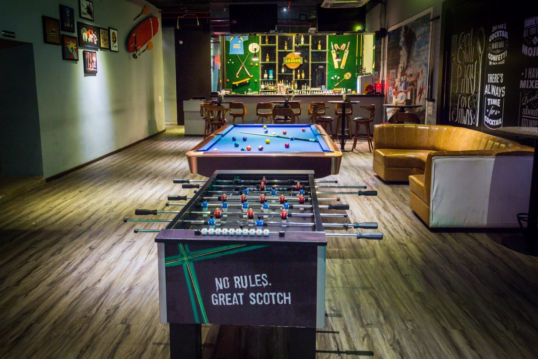 league sports bar vijayawada