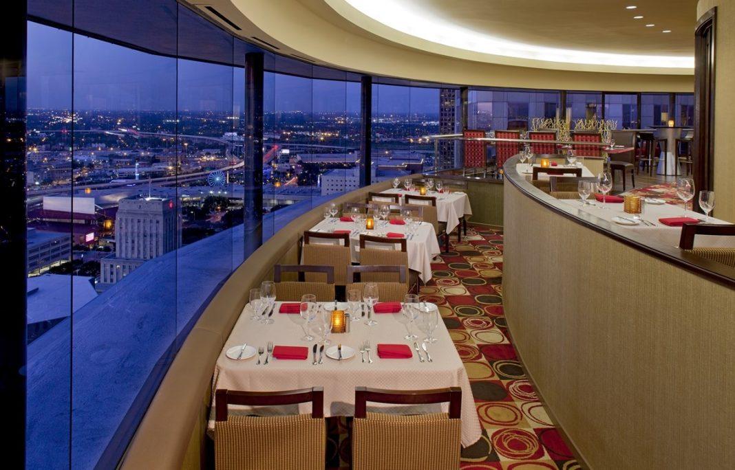 Romantic Restaurant spindletop houston