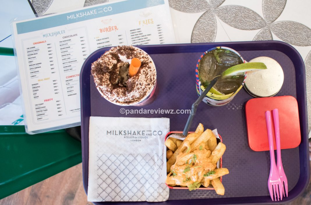 milk shake and co food meal