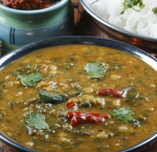 sai bhaji sindhi food