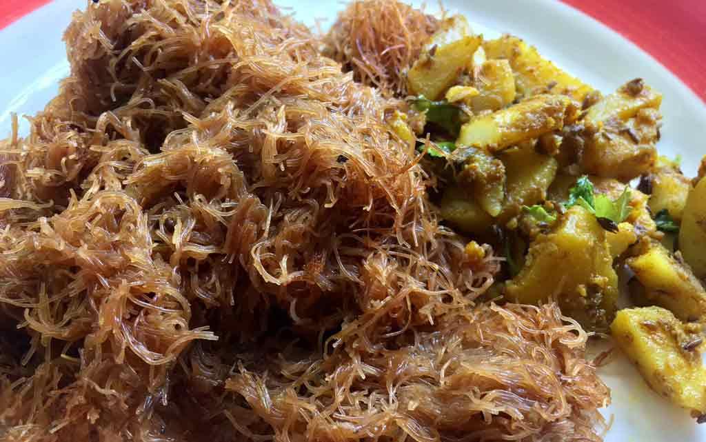 sindhi food seyun patata