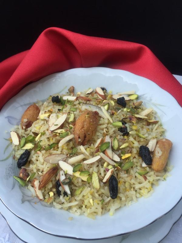 sindhi sweet rice taiyri