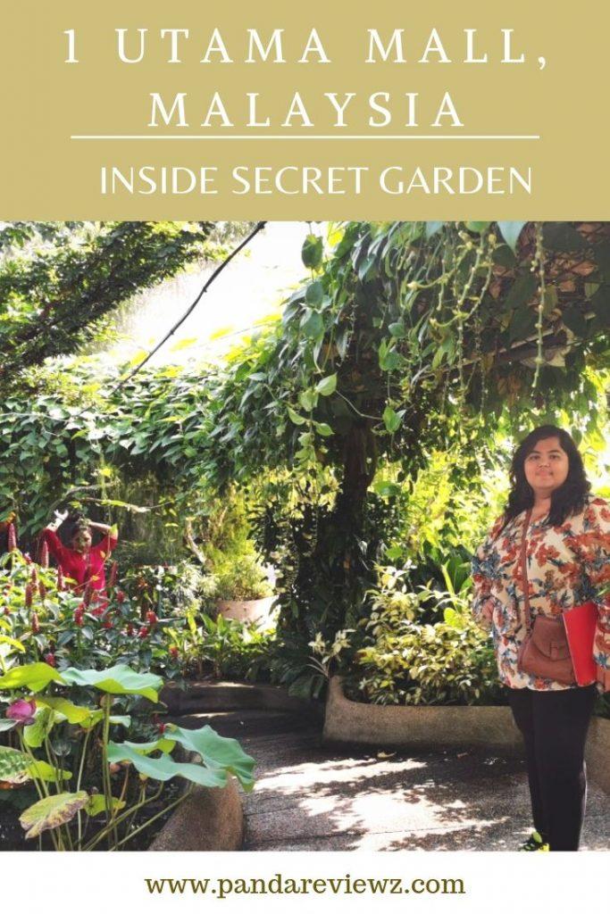Inside secret garden