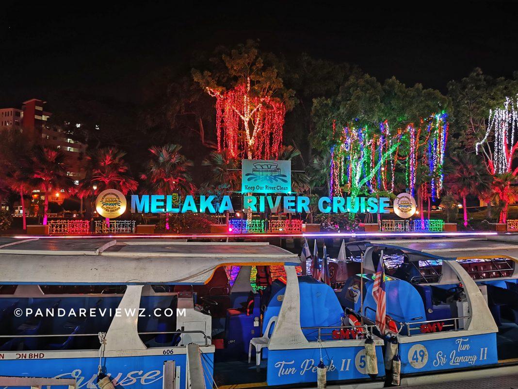 River cruise melaka 2019