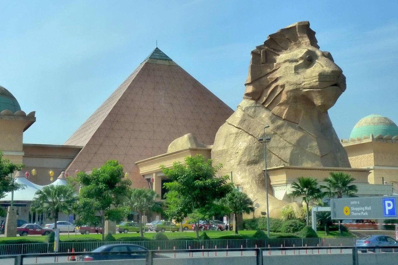 Sunway Pyramid, shopping malls in kuala lumpur