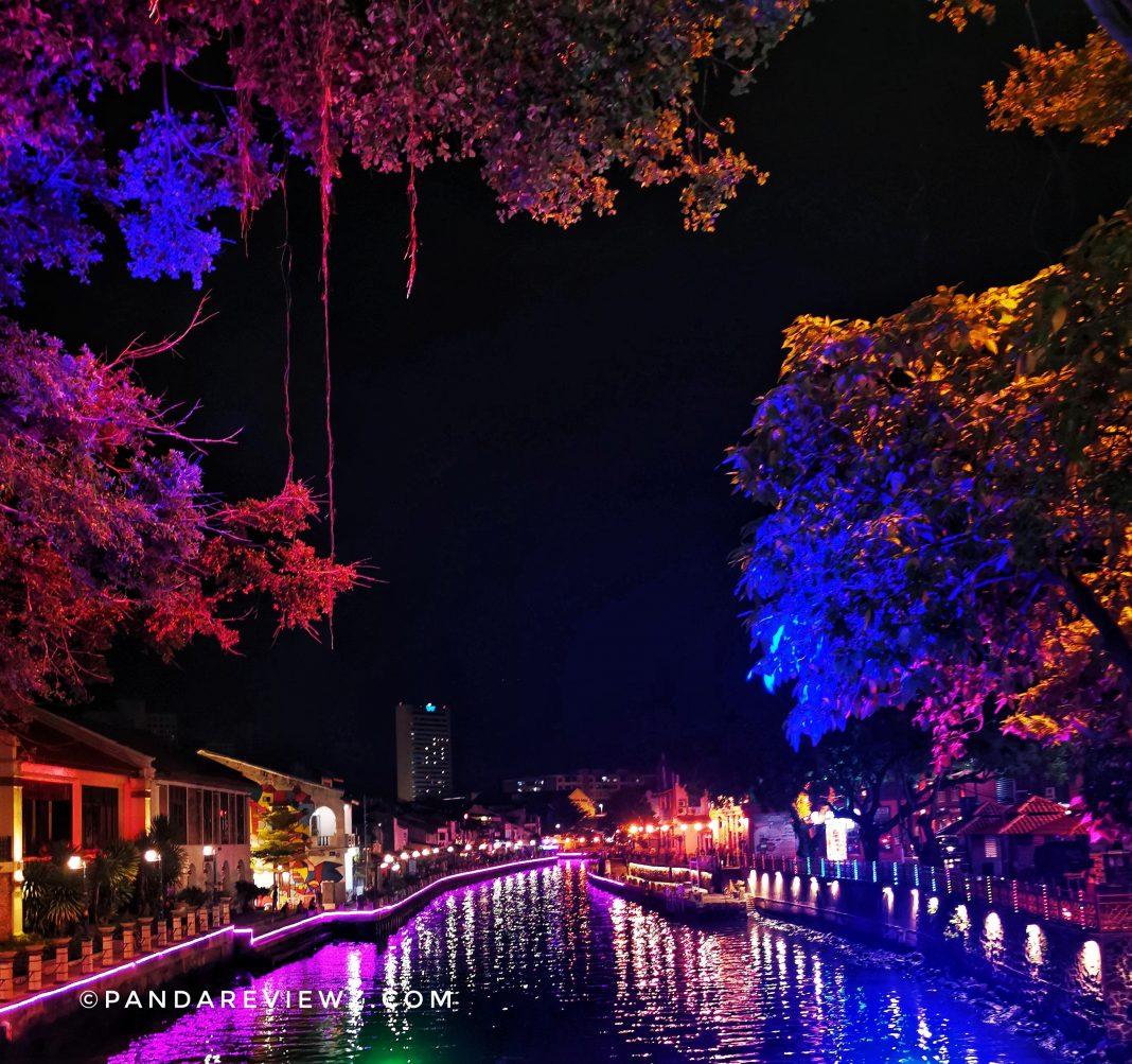 colorful River of melaka