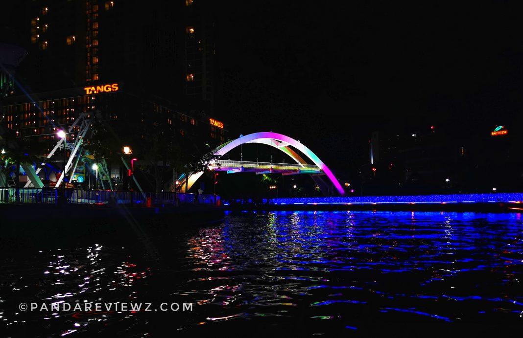 melaka river cruise bridge