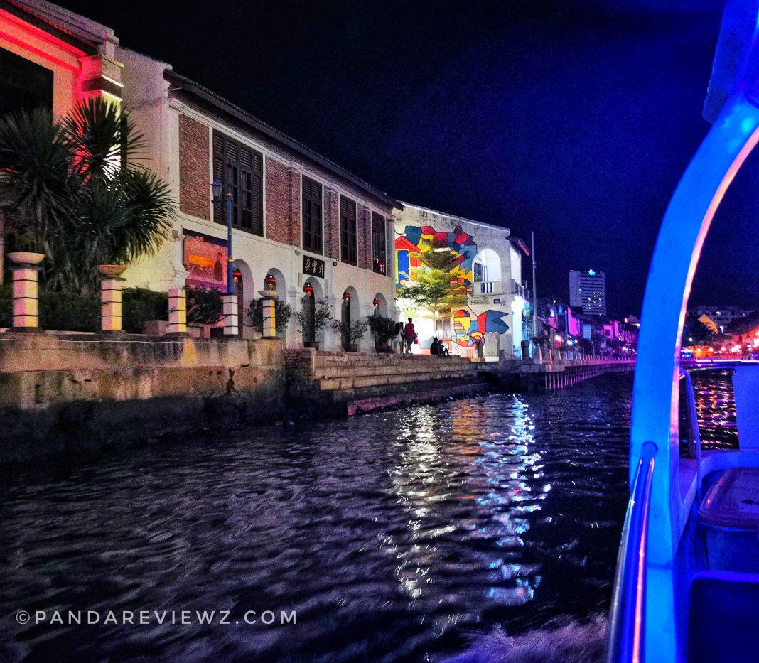 melaka river cruise route street art