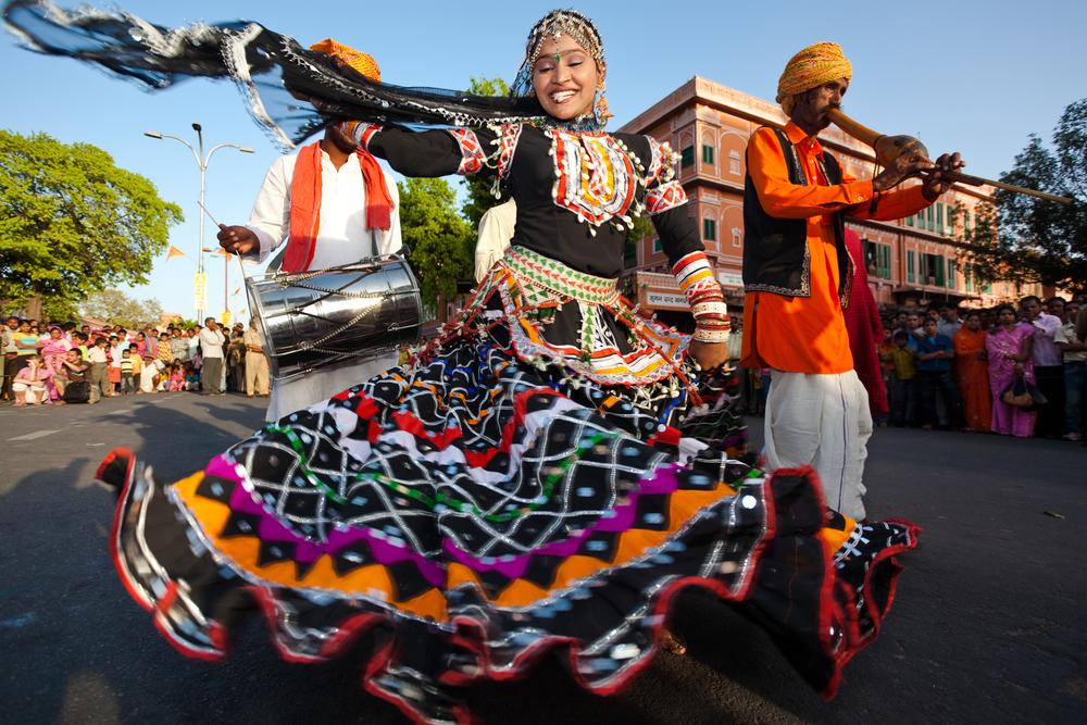 Gangaur festival in India