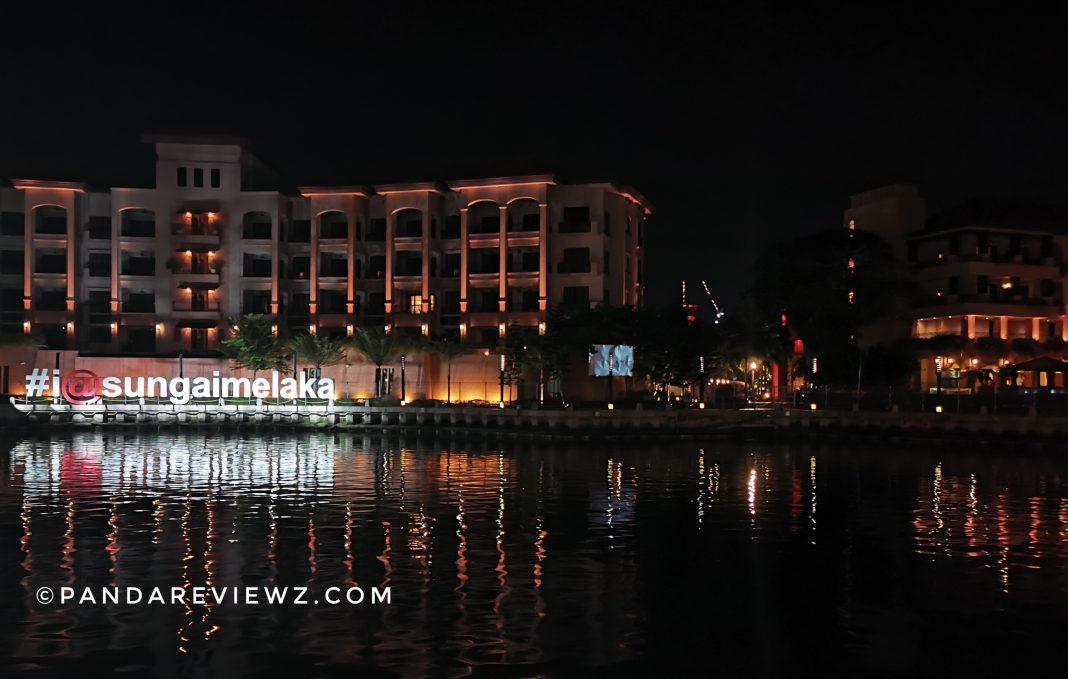 melaka river cruise boarding