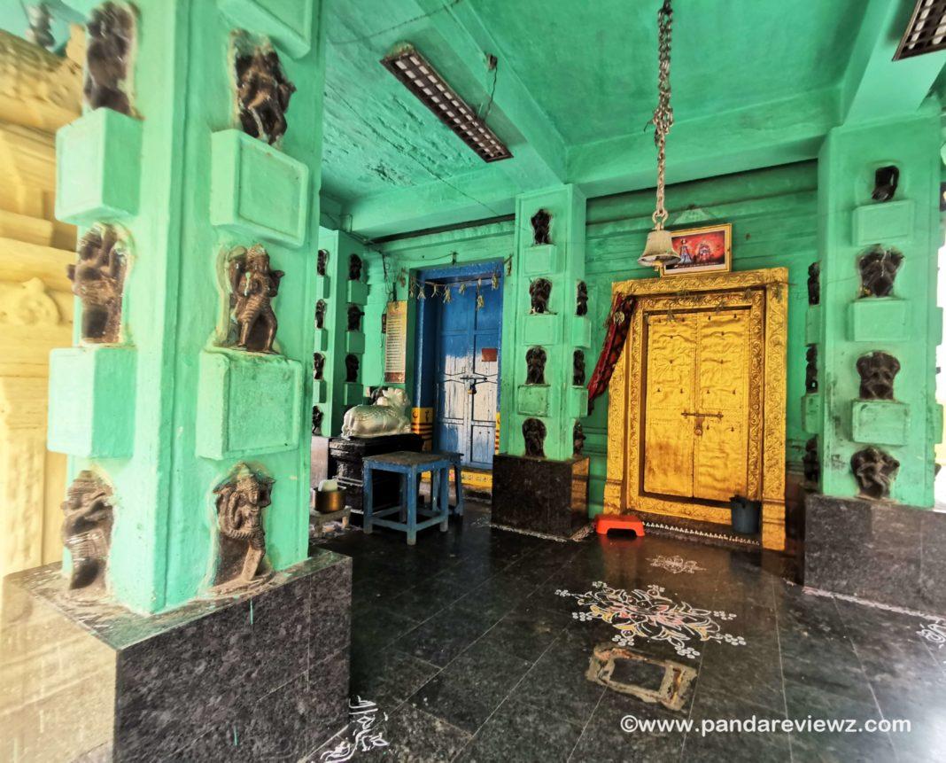 inside the temple kuchipudi