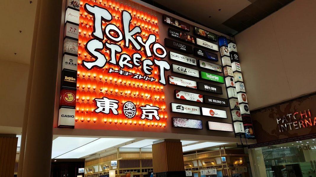 tokyo street inside pavilion mall